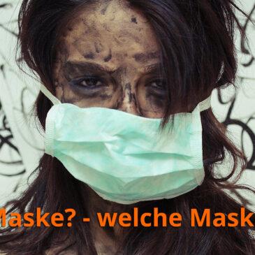 Die Maske fällt nicht, dafür fallen alle Hemmungen
